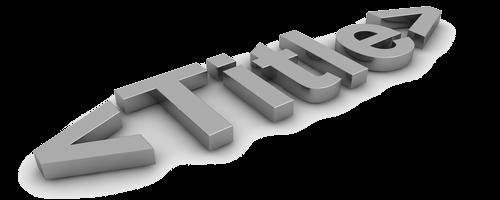 Title — мета-тег, который содержит заголовок HTML